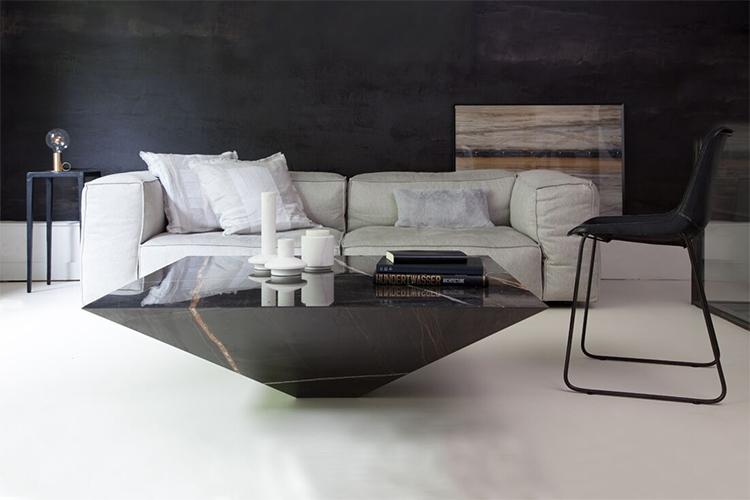 Kinh nghiệm chọn mua bàn trà phòng khách phù hợp với ghế sofa