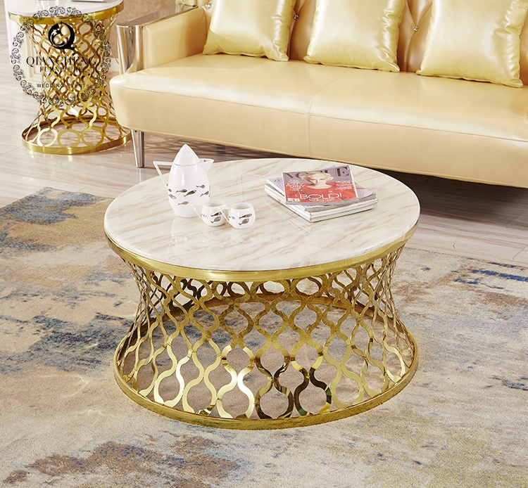 Có nên chọn bàn trà sofa khung inox cho phòng khách không?