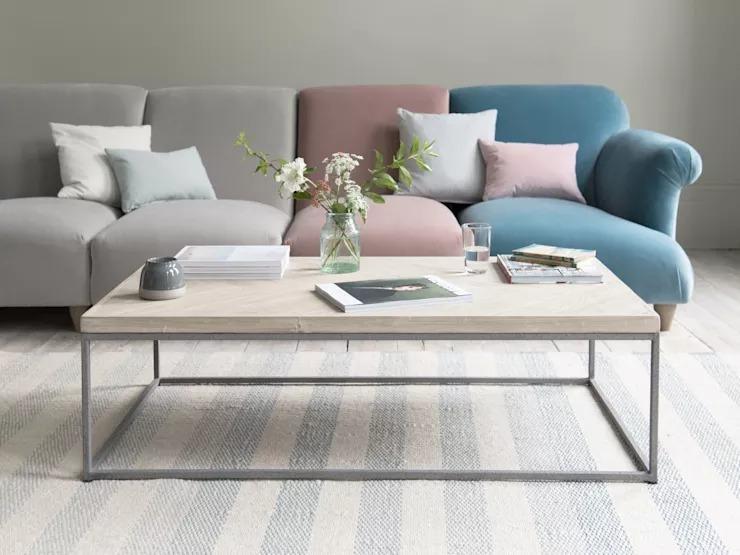 Tại sao những mẫu bàn trà sofa chân sắt phòng khách được ưa chuộng?