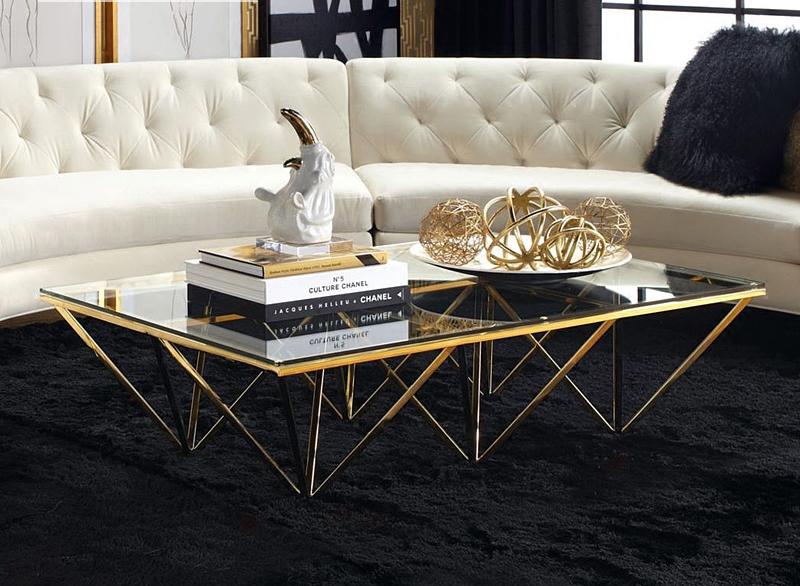 Có nên chọn mua mẫu bàn trà sofa chân inox không?
