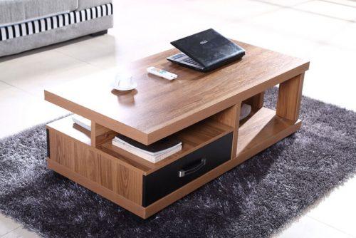 Review mẫu bàn trà sofa gỗ sồi có nên chọn trang trí phòng khách không?