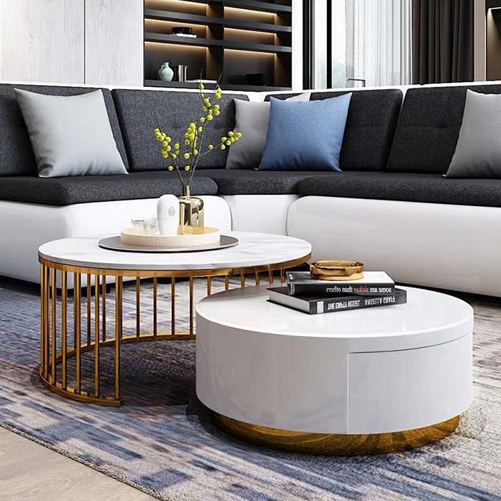 Bàn trà sofa đẹp nội thất căn bản căn hộ