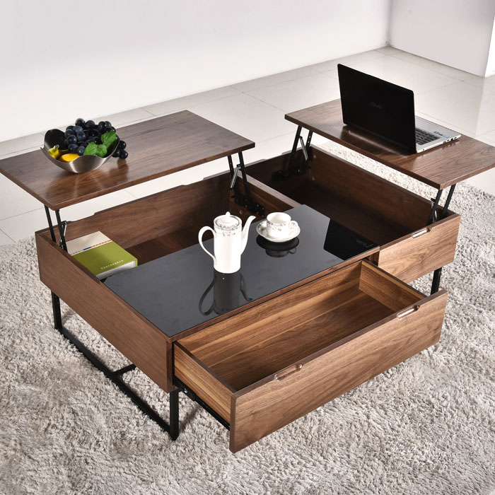 Bàn trà sofa đa năng giải pháp tuyệt vời cho những gian phòng chật chội