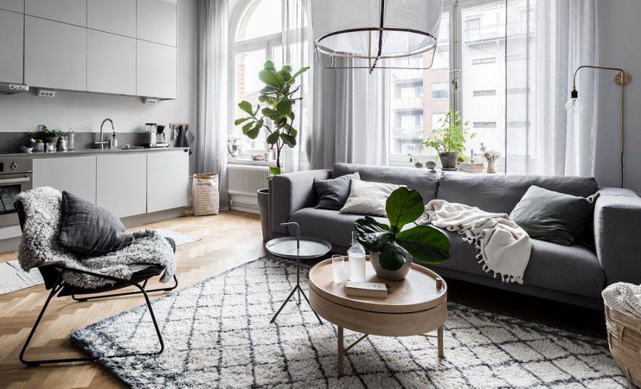 Gợi ý cách kết hợp bàn trà sofa gỗ đơn giản ăn ý với ghế sofa